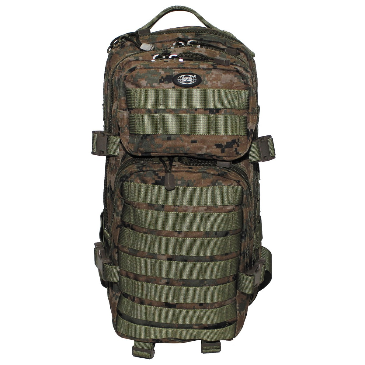 US Rucksack, Assault I, digital woodland